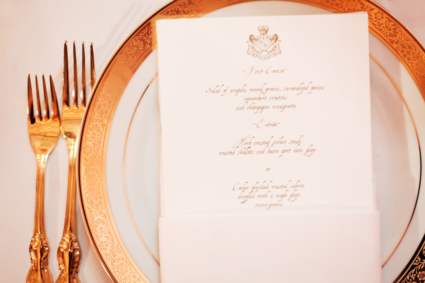 Bently Reserve Table Setting