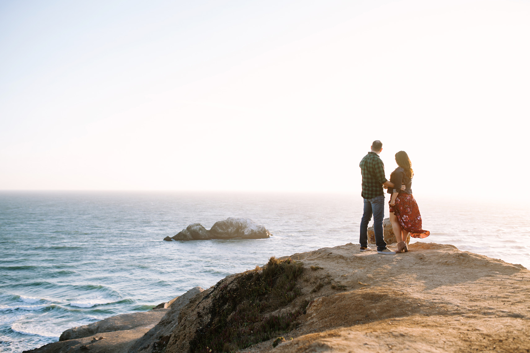 LandsEnd_Engagement_Sunset